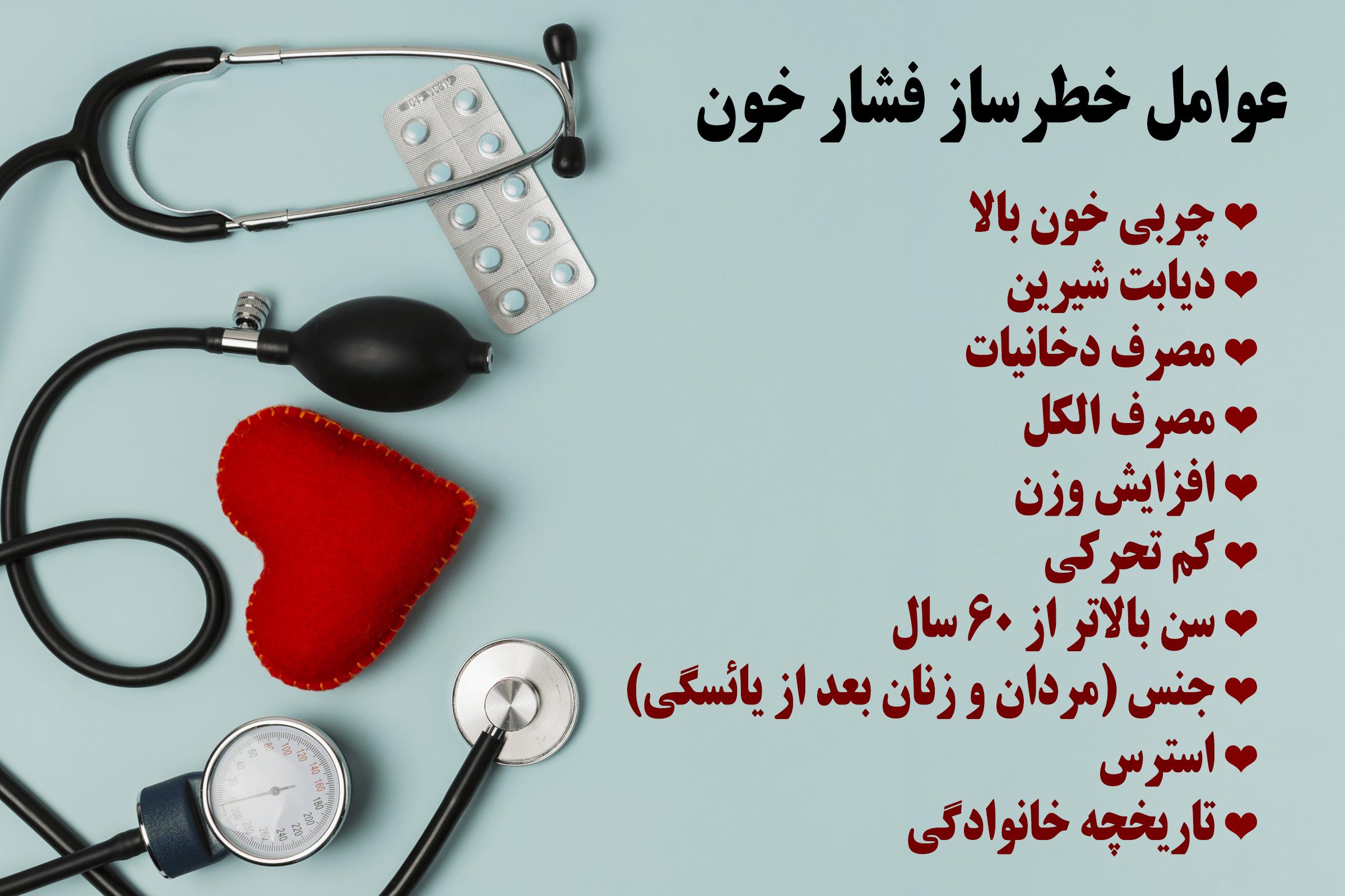 عوامل خطرساز فشار خون